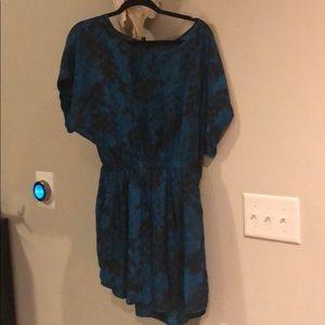 Express dolman print dress